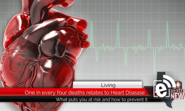 One in every four deaths relates to heart disease    Heart Health Month