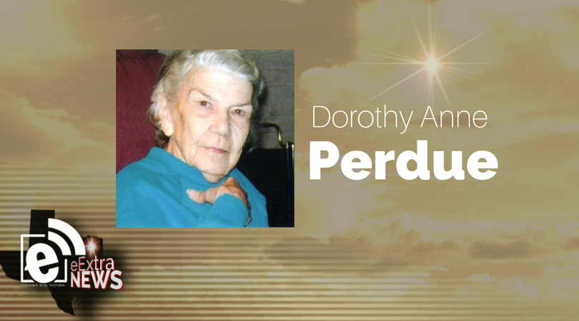 Dorothy Anne Perdue of Paris, Texas