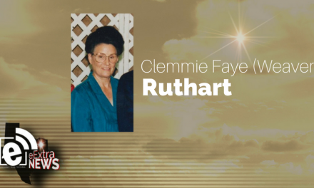 Clemmie Faye (Weaver) Ruthart of Paris, Texas