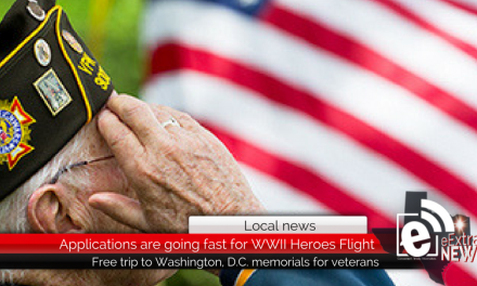 Applications are going fast for the 15th annual WWII Heroes Flight