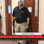 Prairiland ISD hosts active shooter training on campus