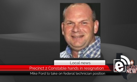 Precinct 2 Constable Mike Ford bids adieu to his position