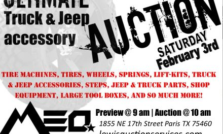 Maximum Elevation off-road auction today
