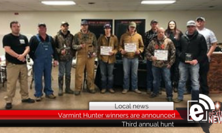 Paris Police Officers Association Varmint Hunter winners are announced