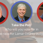 Take the Poll: Who will you vote for in the race for Lamar County Judge?