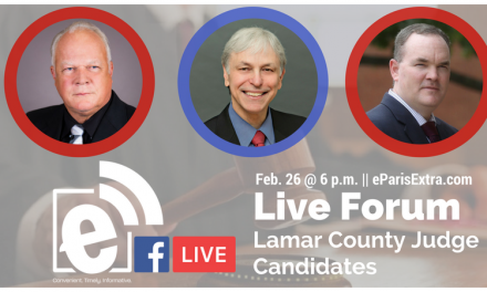 We're live with the Lamar County Judge Candidates – Tune in!