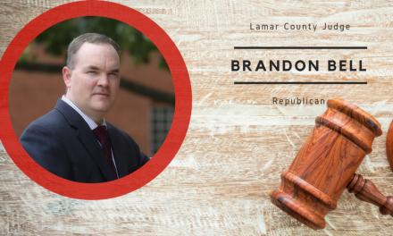 Meet Brandon Bell, candidate for Lamar County Judge