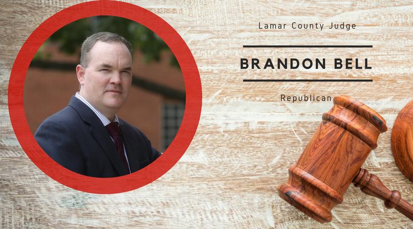 Meet Brandon Bell, candidate for Lamar County Judge