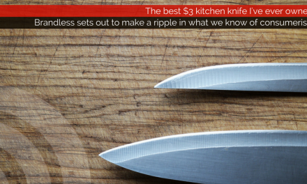 Brandless || The best $3 kitchen knife I've ever owned