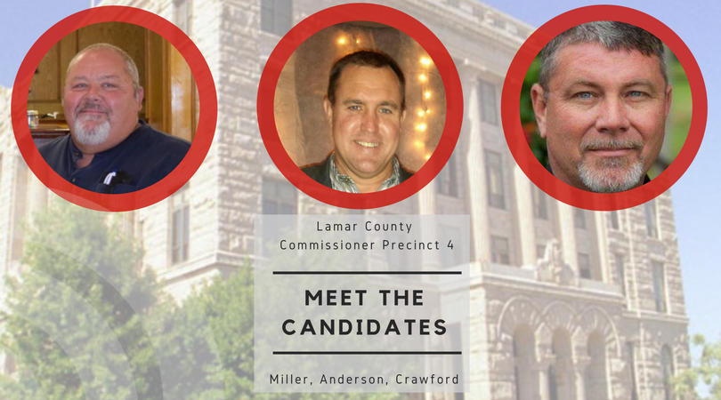Meet the candidates for Lamar County Commissioner Precinct 4