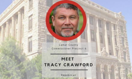 Meet Tracy Crawford, candidate for Lamar County Commissioner Precinct 4