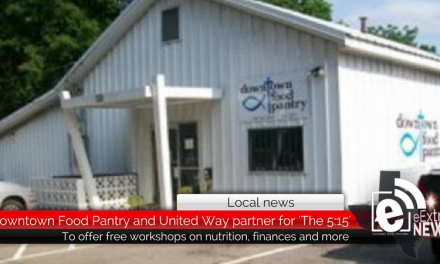 Downtown Food Pantry and United Way to present monthly 'The 5:15' workshop series