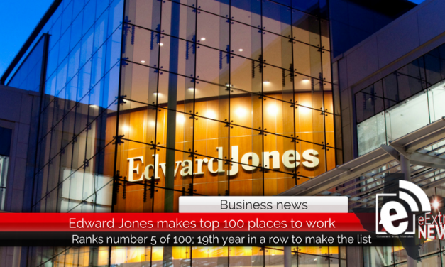 Edward Jones Ranks No. 5 on the 2018 Fortune 100 Best Companies to Work