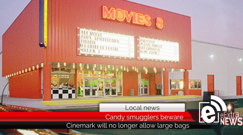 Candy Smugglers Beware Cinemark Movies 8 Will No Longer Allow Patrons To Bring Large Bags