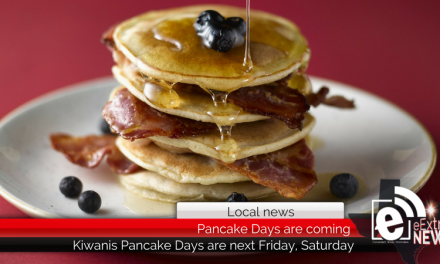 This year's annual Kiwanis Pancake Days are coming