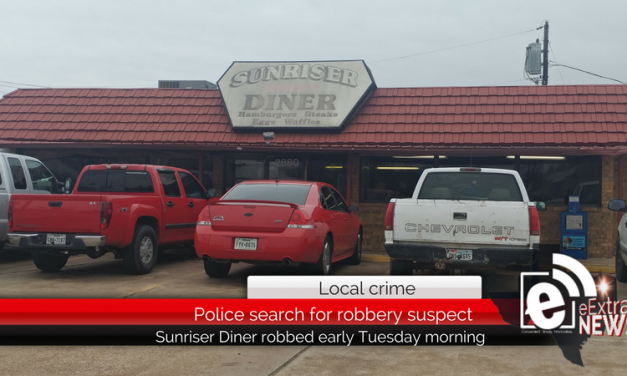 Police are investigating after Sunriser Diner was robbed