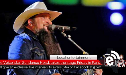Sundance Head, season 11 winner of 'The Voice', comes to Heritage Hall this Friday