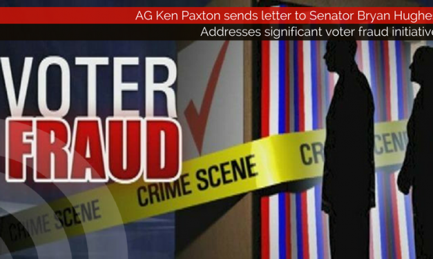 AG Ken Paxton addresses significant voter fraud initiative with Senator Bryan Hughes