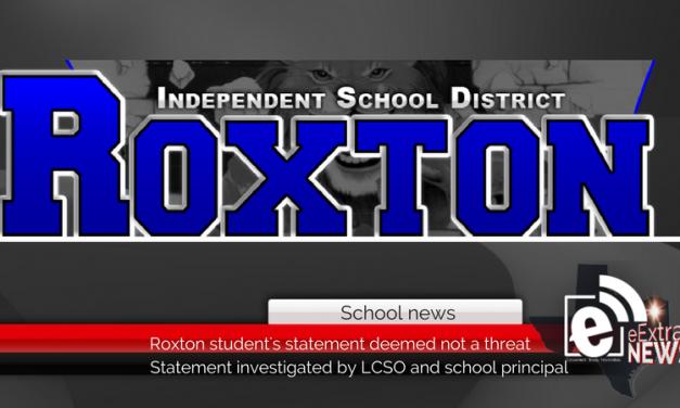 Roxton student's statement deemed not a threat