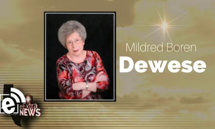 Mildred Boren Dewese of Paris, Texas
