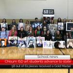 Chisum ISD art students advance to state