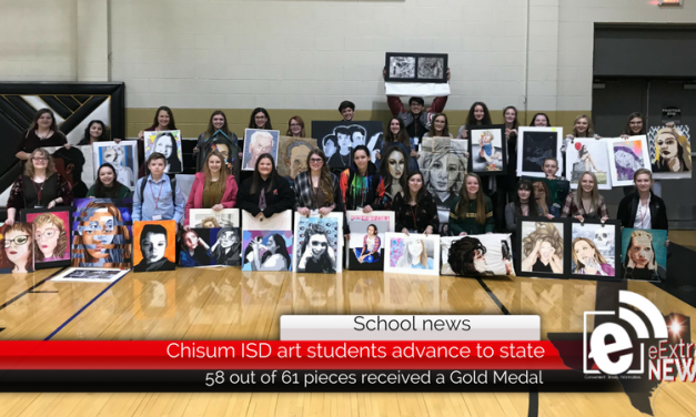 Chisum ISD art students advance to state
