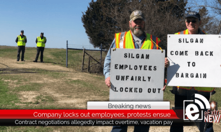 Company locks out employees, protests ensue