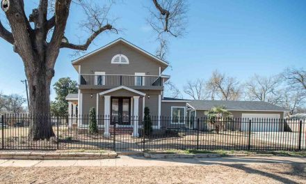 Historic home with modern amenities