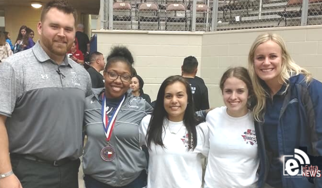 Paris High lifters compete at girls state powerlifting meet