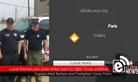 Local firemen join state strike team to fight Texas wildfires
