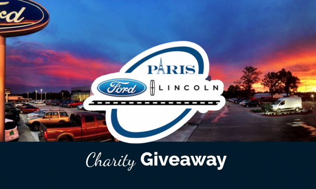 Paris Ford Cares    April Charity giveaway contest