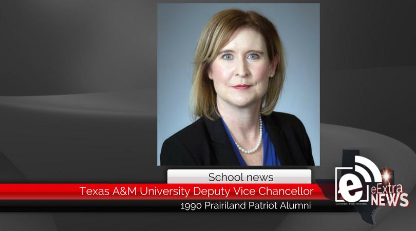 Prairiland alumni named Texas A&M University Deputy Vice-Chancellor