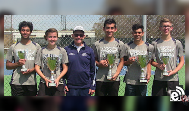 Paris ISD Tennis sweeps district singles trophies