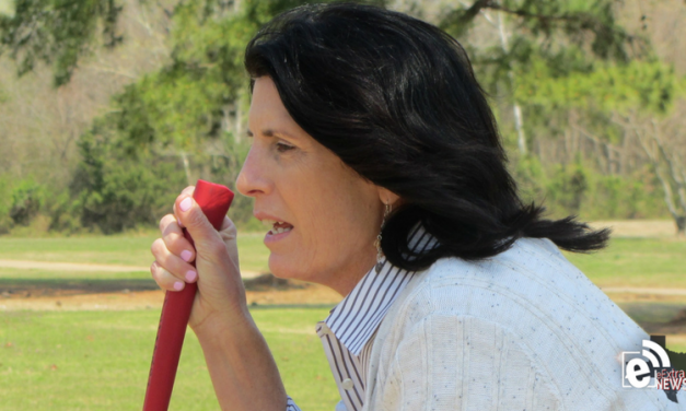 Heard the one about keeping your head down? || Golf tips by Cathy Harbin