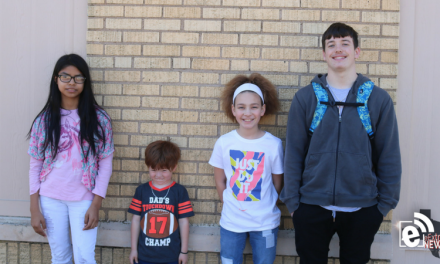 Roxton ISD students of the month