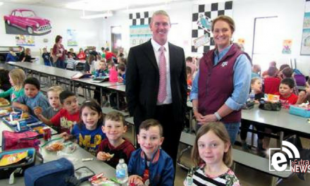 Students and staff welcome new NL superintendent