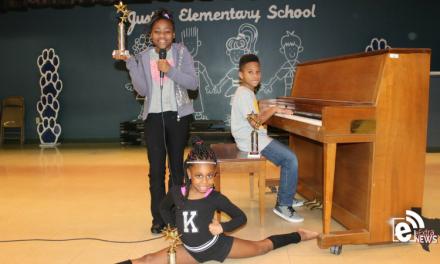 Justiss Elementary school talent show winners