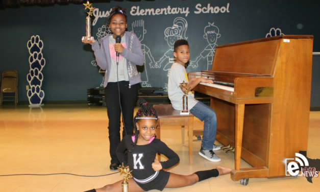 Justiss Elementary school talent show winners
