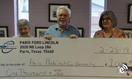 Paris Habitat for Humanity wins $1,000 in Paris Ford/Lincoln 12/12/12 campaign