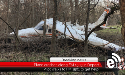 Plane crashes on FM 1503 in Deport • Updated 6:30 p.m.