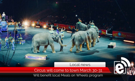 Circus will come to town March 30-31 – Will benefit Meals on Wheels