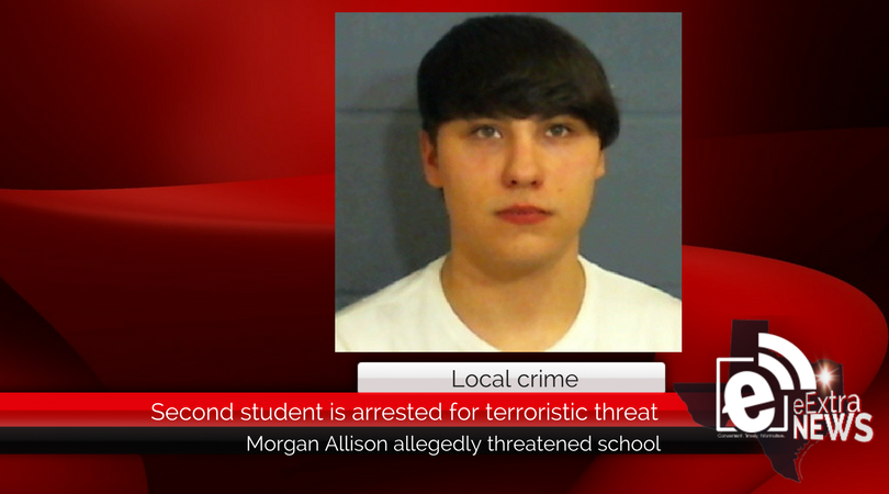 Second student arrested for terroristic threats about school