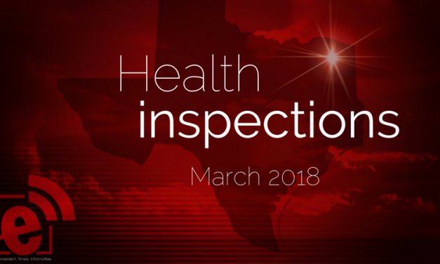 Health inspections to date for Lamar County, Texas