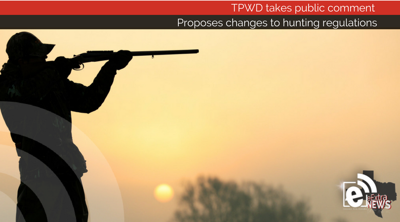 Tpwd takes public comment on proposed changes to hunting for Tpwd fishing license