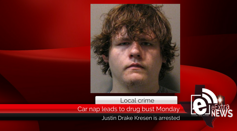 Car nap leads to drug bust Monday
