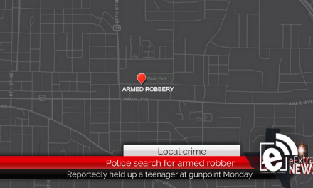 Police search for man who reportedly robbed a teenager at gunpoint