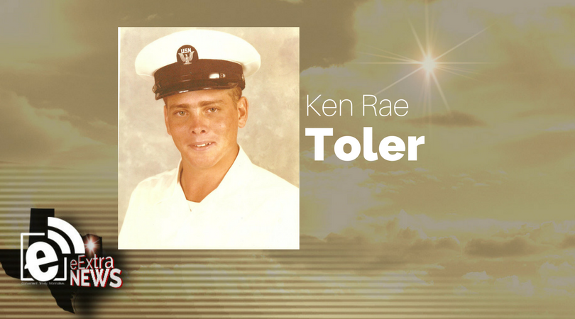 Ken Rae Toler of Greenville, Texas, formerly of Blossom, Texas