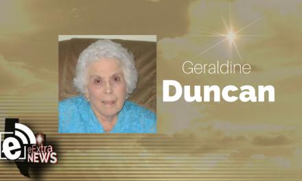 Geraldine Duncan of Paris, Texas