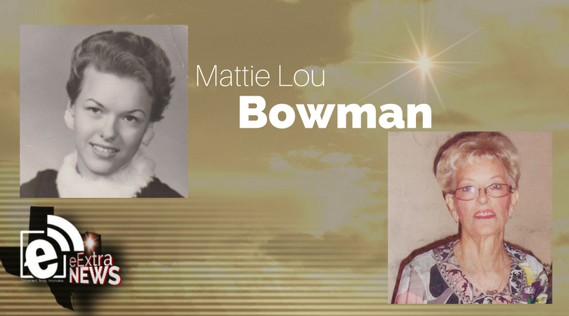 Mattie Lou Bowman of Paris, Texas
