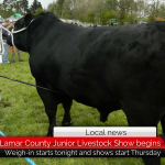 Lamar County Junior Livestock Show kicks off with weigh-in tonight